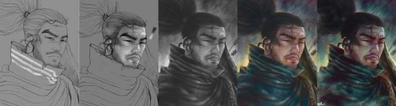 Yasuo Process by Hype-Arts
