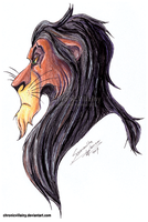 [The Lion King] Scar (2017) by chronicvillainy