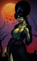 The Green Mistress of the Dark by Marauder6272