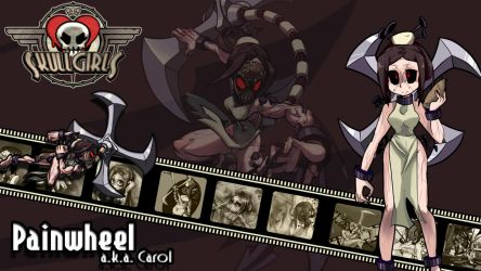 Skullgirls : Painwheel Wallpaper by ariff78