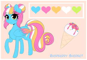 Raspberry Sherbet Reference by FluffyMaiden