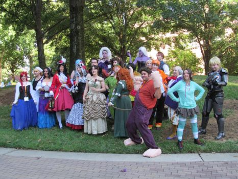 AWA 2013: Disney Photo Group by Kenichi-Shinigami