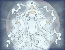 Moon Spirit Yue by lostangels22