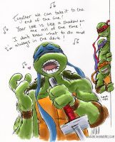 TMNT: Total Eclipse of the Heart by loolaa