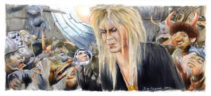 Labyrinth - The Goblin King by Jimbeanus