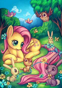 Fluttershy by Sprucie