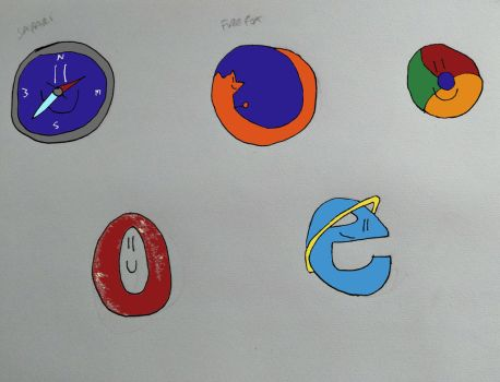Browsers by hennah1