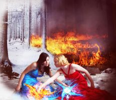 Fire and Ice by BigA-nt