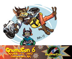 Gnomecon 17 by LytletheLemur
