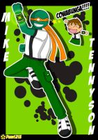 TMNT in Ben 10-Mike Tennyson by RoseMary1315