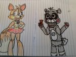FunTime Marie and FunTime Honey by Imnotgivingup