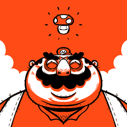 Mario Face by madPXL