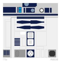 R2D2 by rjwarrier
