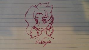 A Wild Kakyoin Has Appeared!! by astra-magicka