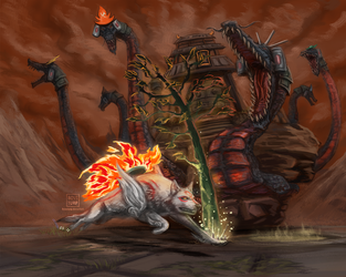 The Wrath of the Serpent by bossturp