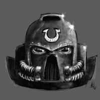 Ultramarines Helmet by Rafta