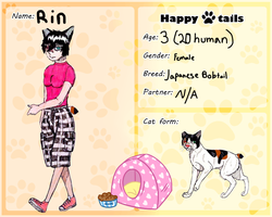 HT Cat App: Rin~ by yugiohfreakXD