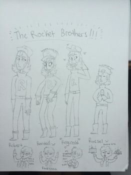the rocket bros by megumins