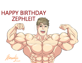 Zephleit Buffday by Kensoudojo
