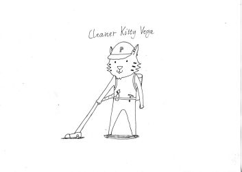 Cleaner Kitty Vega by Generune