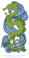 Seadragon (vector) by GoaliGrlTilDeath