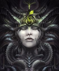 R.I.P HR GIGER by AlectorFencer