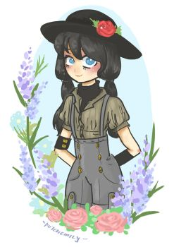 Flowery by puteriemily