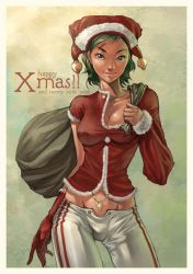 Artgerm's Pepper Christmas by SunnyGho