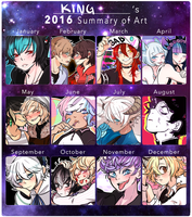 2016 Summary of Art by bakaqeyama