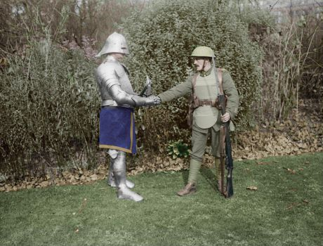 Body Armor: Blast From The Past - 1917 - Colorized by OldHank