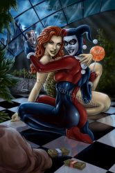 Harley and Ivy by VinRoc