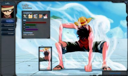 Deviant LOL extra champ : Luffy King of Pirate. by Toyboj