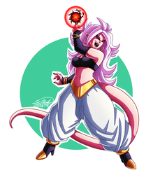 Android 21 by Sawuinhaff