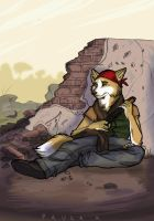 Quiet moment by Harmaasusi