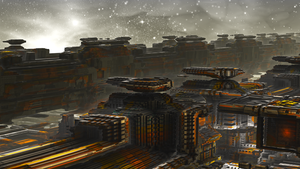 Space Port by banner4