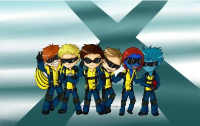 X-Men First Swag by ThePyrrhaProject