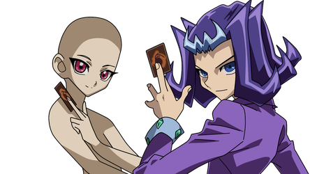 Ryoga with a base cards request by Basemakerofdarkness