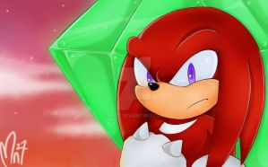 Knuckles: The guardian by Mn27