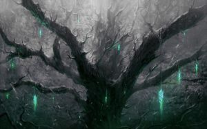 Ghost tree by ChrisCold