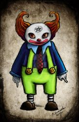 clown color by moon88shadow