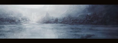 Stormhold lake by leventep