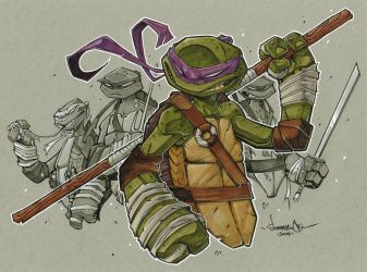 Donatello Markers by Red-J