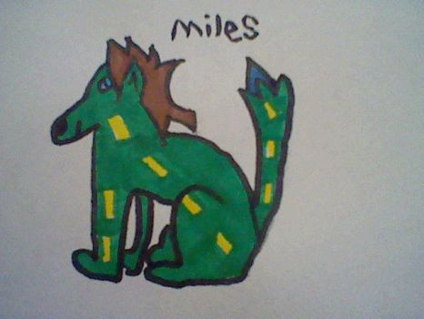 miles the fox by remehoney