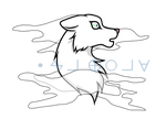 Shirogane Sticker by IsellaHowler