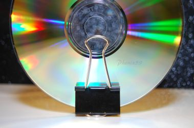 Vertical CD Stand III by Phenix59