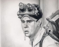 Ghostbusters Ray Stantz by johndibiase