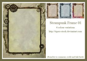 269 Steampunk Frame01 by Tigers-stock