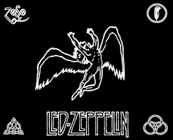 Led Zeppelin angel by agentdoubleoneseven