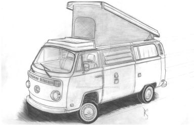 vw bus by RobertoCarmona