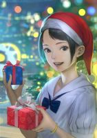 Cute Christmas by DigitalOme